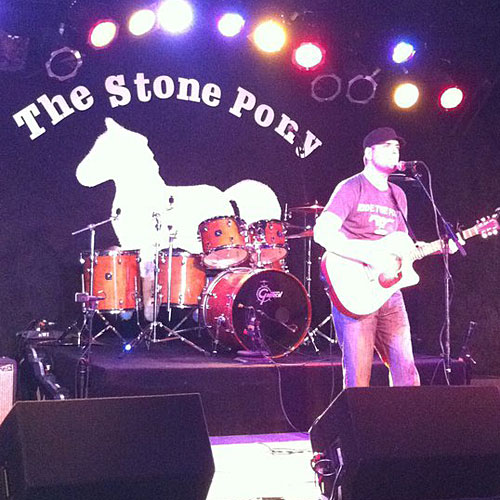Anthony Ceseri performs at the Stone Pony, May 2011