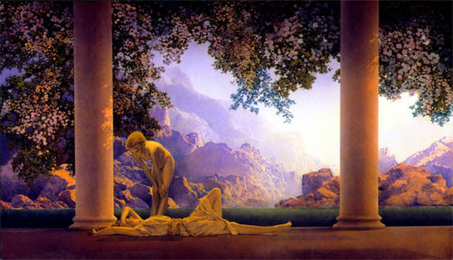 Maxfield Parrish - Daybreaak